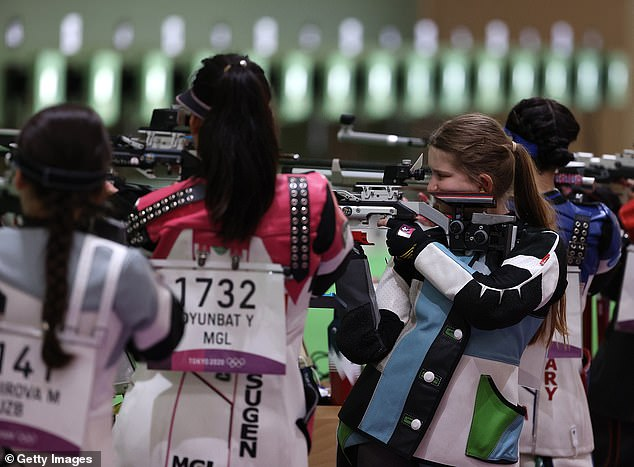 Despite the Opening Ceremony taking place this evening, some events are already underway including shooting (pictured)