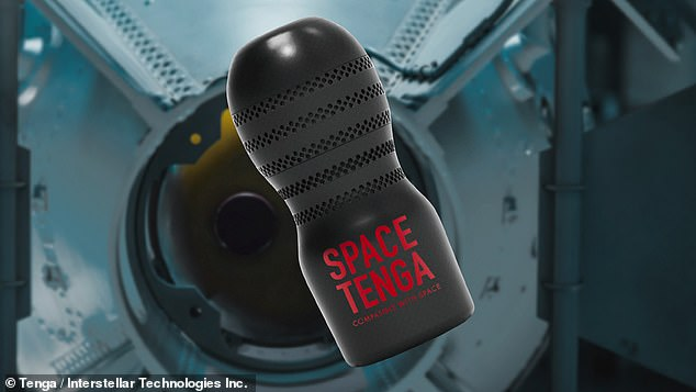 The large red rocket will carry a specially-modified TENGA Cup device which the firm alleges will cumulate data on the conditions it experiences in space
