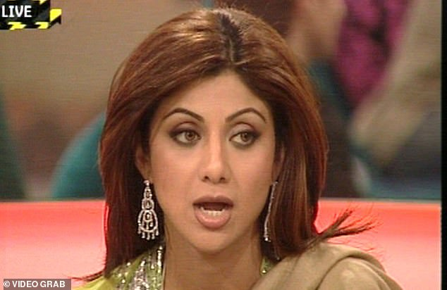 Back in 2007, Shilpa shot to fame on the fifth series of Celebrity Big Brother (pictured) and became embroiled in a race row with the late Jade Goody