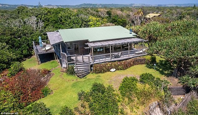 Property: They owned several properties around Byron Bay and surrounding areas in the 1980s, including a beachfront pad bought at the time for $325,000 dollars which they later sold for $10million to Harvey Norman heir Glen Norman