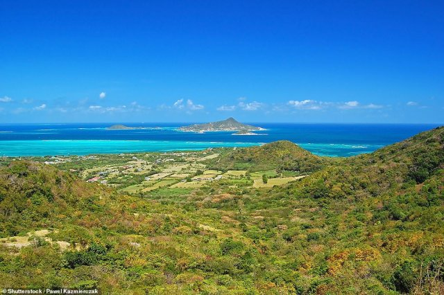Carriacou has a population of 7,000 and is seven miles long and two miles wide. It's currently on the UK's green list