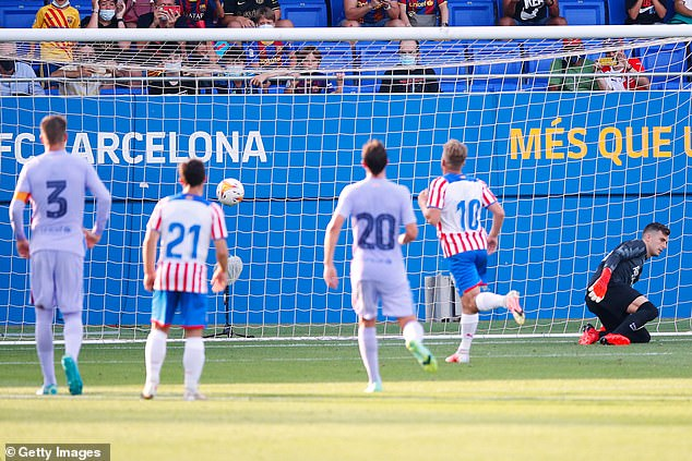 Girona's goal was also a penalty with Samu Saiz scoring from the spot in the 42nd minute