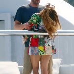 Ben's birthday surprise for JLO! Loved-up Bennifer fly in to French Riviera 💥👩💥