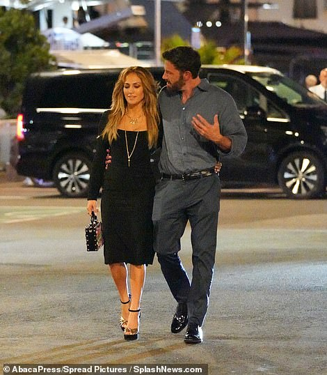 .Heartwarming: Lopez was seen laughing and joking with Affleck following her birthday dinner