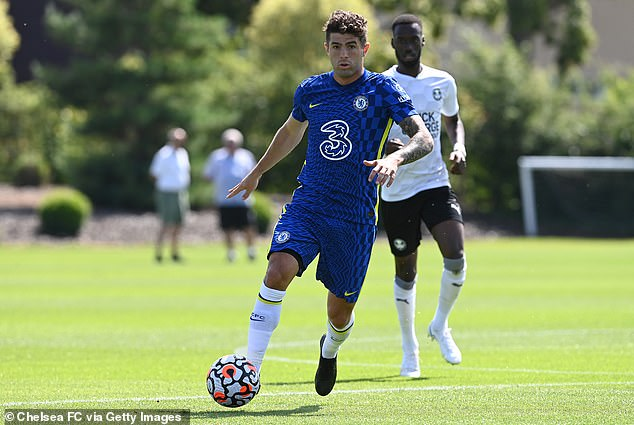 Christian Pulisic believes he is primed and ready for a breakthrough season with Chelsea