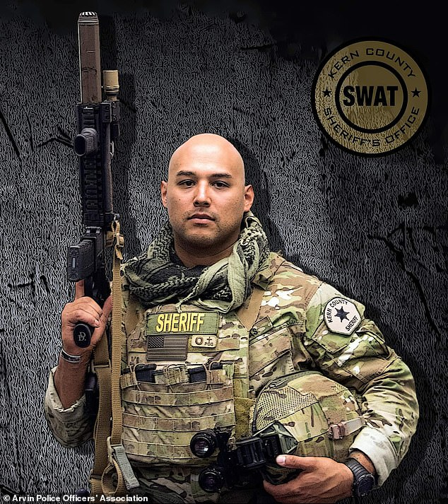 Campas had been a soldier in United States Marine Corps prior to his law enforcement career