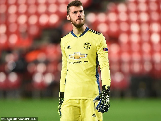 The goalkeeper became United's highest-paid player two years ago after protracted talks