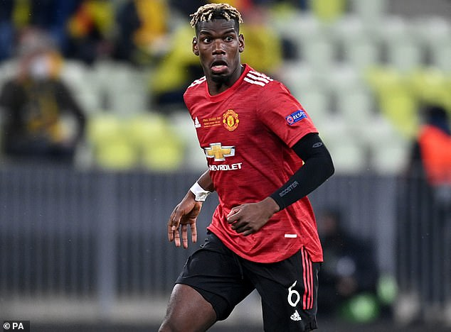 United are considering selling Paul Pogba, on a £290,000-a-week contract, this summer