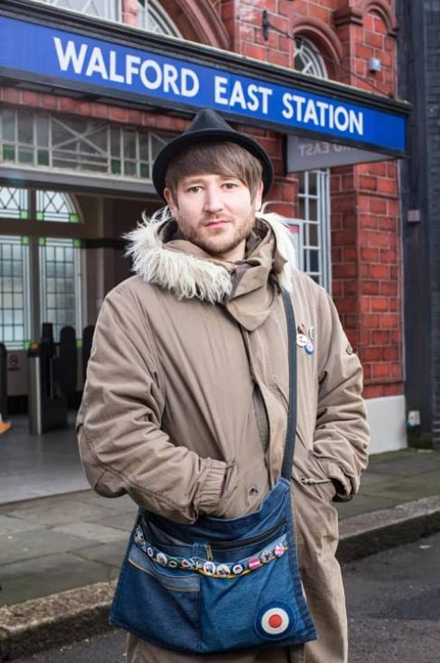 Soap star: Ben has played market stall holder Shrimpy on EastEnders since 2014