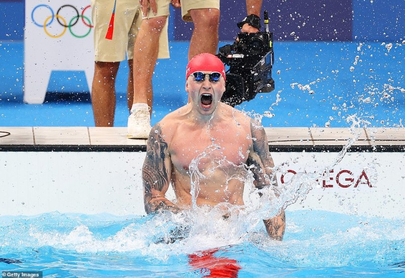 Team GB's Adam Peaty made Olympic history in Tokyo by winning the men's 100 breaststroke