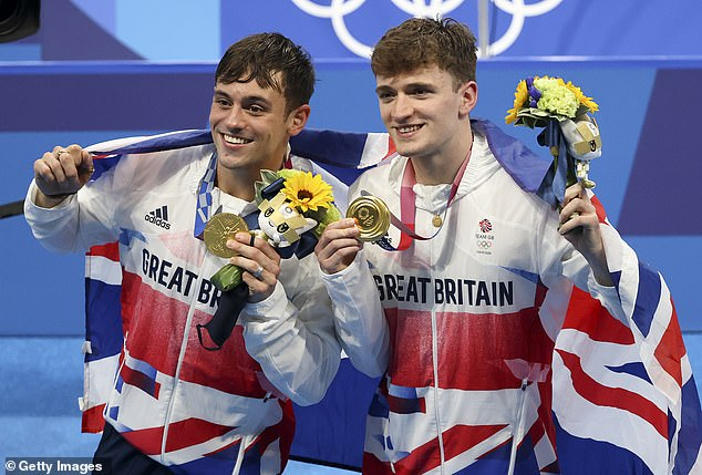 The broadcaster has been criticised for constant repeats, including Tom Daley (L) and Matty Lee's gold medal triumph in the diving