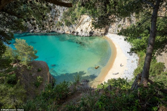 Fringed by the Cilento National Park, Capo Palinuro is a rocky headland, surrounded by deep blue grottoes and wide, sandy beaches