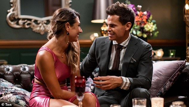 The plot thickens: On Monday, Bachelor star Jacinta 'Jay' Lal admitted it definitely wasn't 'love at first sight' when she met the hunky pilot on the red carpet. Both pictured
