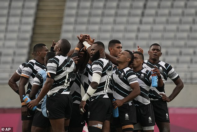 Fiji delivered a stunning display to ensure Team GB's Tokyo Olympics group stage ended in defeat