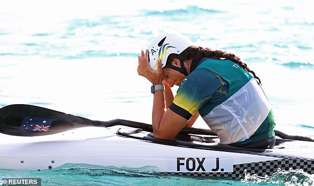 German Ricarda Funk finished with the gold medal, beating defending champion Maialen Chourraut - with Jess Fox in third