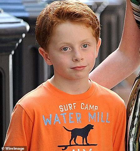 Sweet: Miranda's son Brady was played by Joseph Pupo in the series