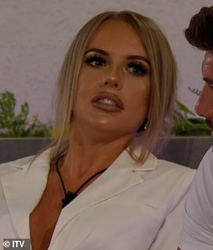 Tension? Sharon hinted there may have been underlying feud between Faye Winter and Hugo before the comments were made