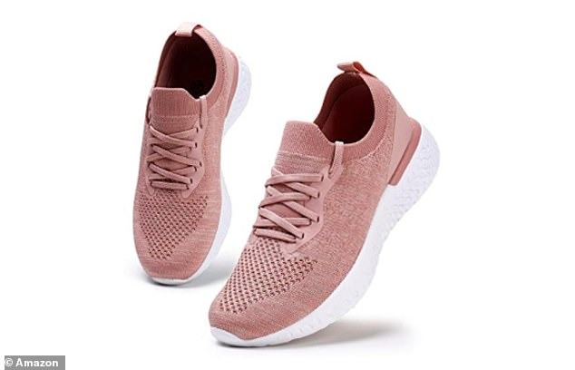 The HKR lightweight trainers are supportive like trainers, but lightweight and available in classic, easy-to-wear colours like grey, black, white and pink