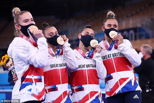 The team success for the women is Britain's first since the Amsterdam Games of 1928