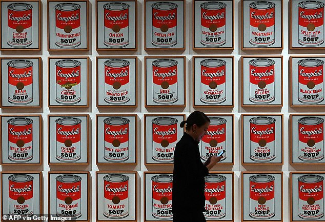 The paintings would be Warhol's breakthrough as a pop artist after he spend years designing window dressings