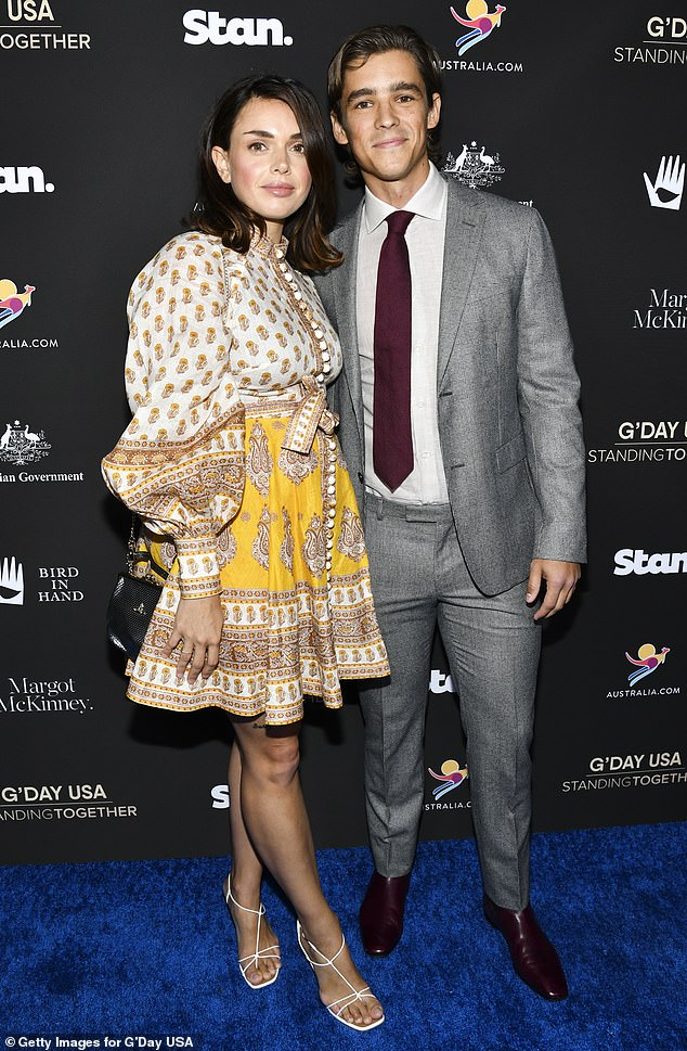 Investment: Thwaites and Pacey paid $1.07 million for the property in 2017. The couple seen here in January 2020