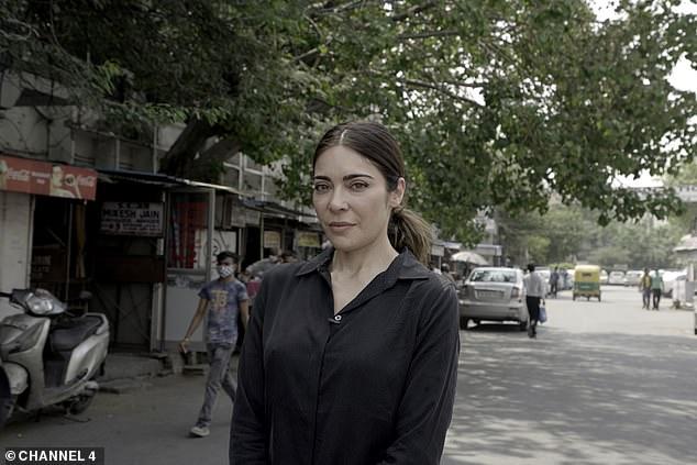 Journalist and presenter Ramita Navai (pictured) investigates Manisha's tragic story during the documentary
