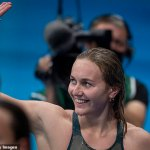 Tokyo Olympics: Why swimmers splash themselves with water and rub starting blocks before race 💥👩💥