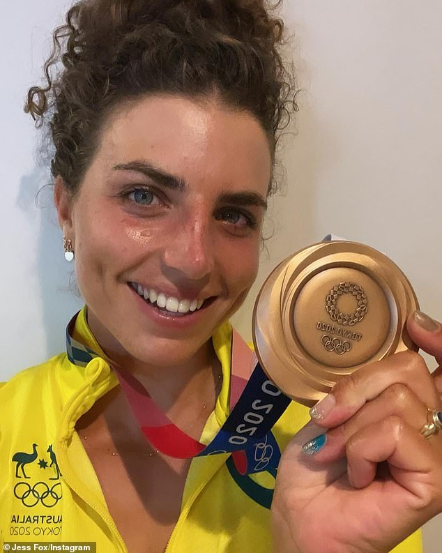 Australian Olympic bronze and silver medallist Jess Fox has revealed the secret technique she uses to fix up her damaged kayak - a condom