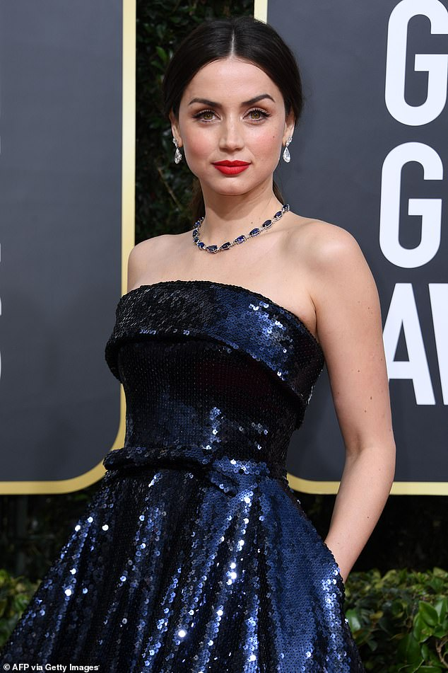 A longer wait: The release of the Ana de Armas-starring biopic Blonde, which will be centered on the life of Marilyn Monroe, has been pushed back to 2022; she is seen at the77th Golden Globe Awards in 2020