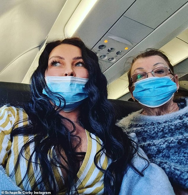 Is she headed for Big Brother VIP? Schapelle Corby teased a 'new adventure' On Friday, as she hopped on a flight after her successful stints on Dancing With The Stars and SAS Australia