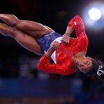 Simone Biles reveals she is still struggling at presser and releases worrying video of her slipping 💥👩💥