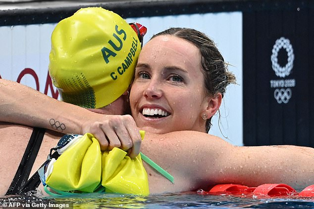 Golden girl!  In July, Emma established herself as the sprint queen of swimming after winning gold in the women's 100m freestyle at the Tokyo Olympics in front of her great friend Cate Campbell.