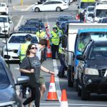 NSW cops line FIFTY cars up along Sydney streets to stop anti-lockdown protesters 💥👩💥