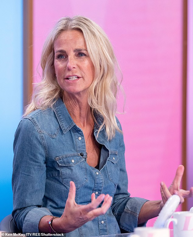 Not impressed:Ulrika accused Caprice of 'blurring the line of consent' and branded her comments to 'dangerous' to other women (pictured in 2020)