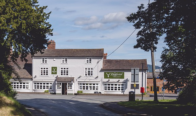 The Haughmond is a 17th Century coaching inn located in Upton Magna