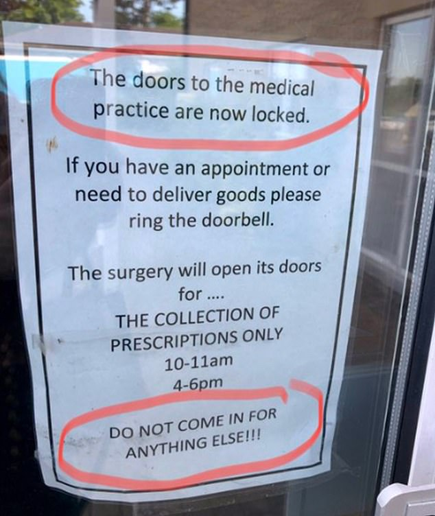 Along with the picture (above), I shared my disdain for the rude tone of the note. Not exactly indicative of a warm and welcoming NHS, I wrote. Within minutes I had more than 600 replies, most of them from disgruntled, ignored patients