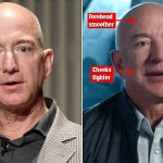 Jeff Bezos's dramatically plumped-up lips and super-smooth face spark cosmetic surgery rumors 💥👩💥