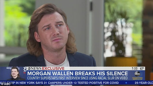 Bender: Wallen was filmed in footage obtained by TMZ casting the N word and other obscenities, which he said in his interview with GMA was at