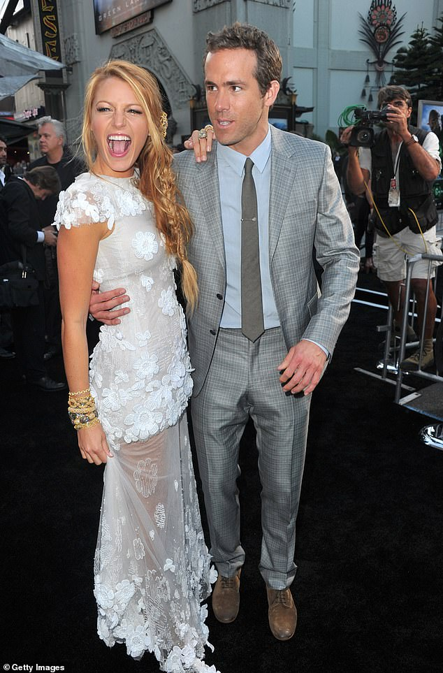 Go fast: the two dated for over a year before deciding to tie the knot;  they are seen at the 2011 premiere of Green Lantern