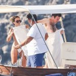 Jack Brooksbank pictured in Capri with glamorous women as Princess Eugenie stays at home 💥👩💥