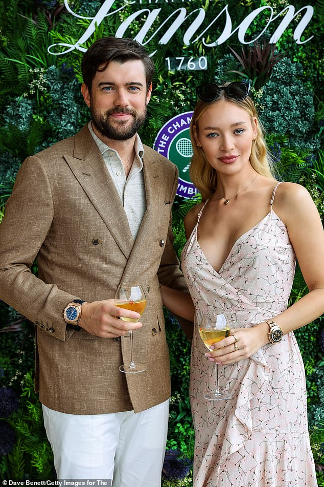 Uh oh! Roxy was reportedly forced out of her boyfriend Jack Whitehall's new £17.5million Notting Hill home after it was swamped with flood water last week (Pictured earlier this month)