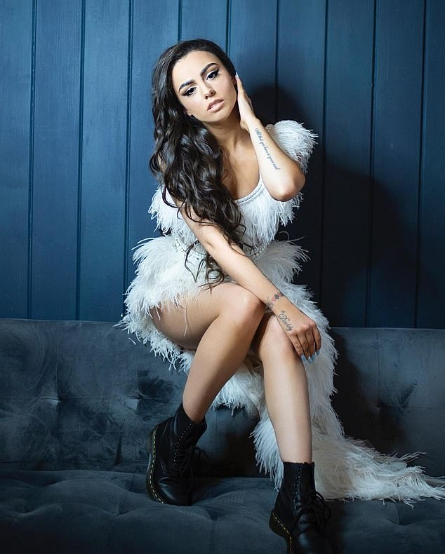 Podcast guests:Cher Lloyd (pictured) is also set to sit down with Rylan on his exciting new podcast