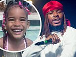 Fetty Wap's daughter Lauren, four, has died according to the little girl's motherTurquoise Miami