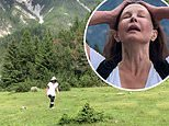 Ashley Judd reveals she is walking again almost six months after shattering her leg in four places