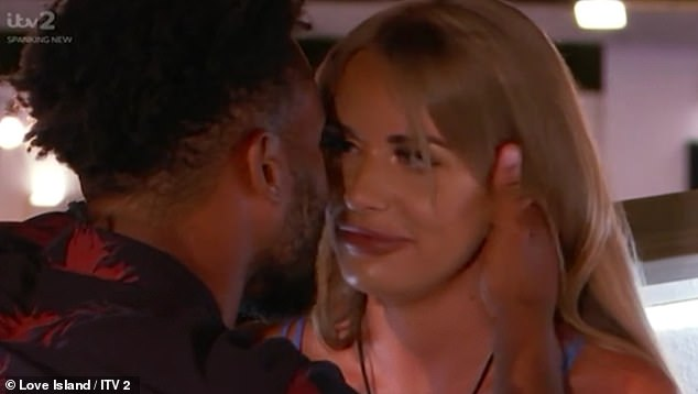 Back on? Things were looking hopeful for Faye and Teddy on Sunday, who rekindled their romance at the end of the episode when they shared a kiss