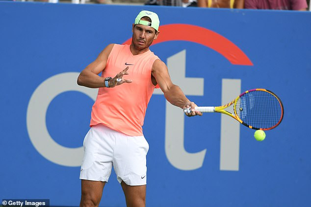 Nadal is playing at the Citi Open to prepare for the US Open after missing the last two months