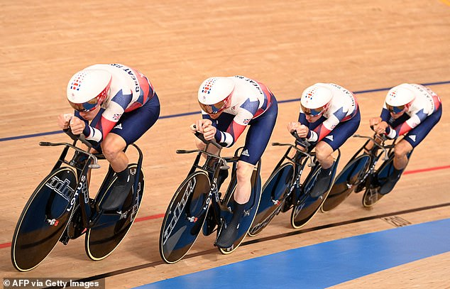 Team GB are still in with a chance of a gold medal in the men's Team Pursuit after finishing fourth in qualifying