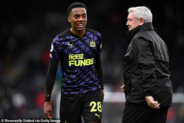 The Magpies are waiting to hear if Joe Willock wants to make a return to the club this season