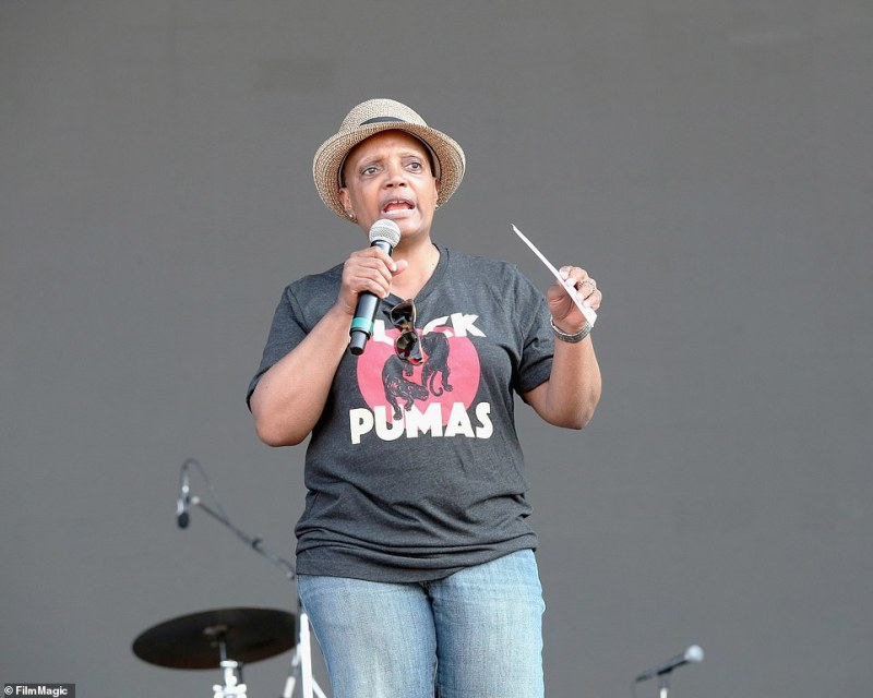 Chicago Mayor Lori Lightfootis facing criticism for attending the 'super-spreader' four-day Lollapalooza music festival, despite threatening to introduce a new lockdown if Covid-19 cases rise following the event