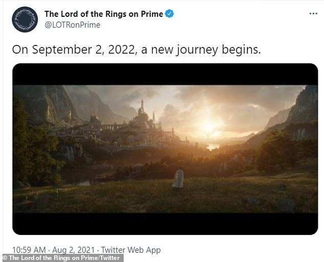 Exciting!  Amazon Studios announced on Monday that